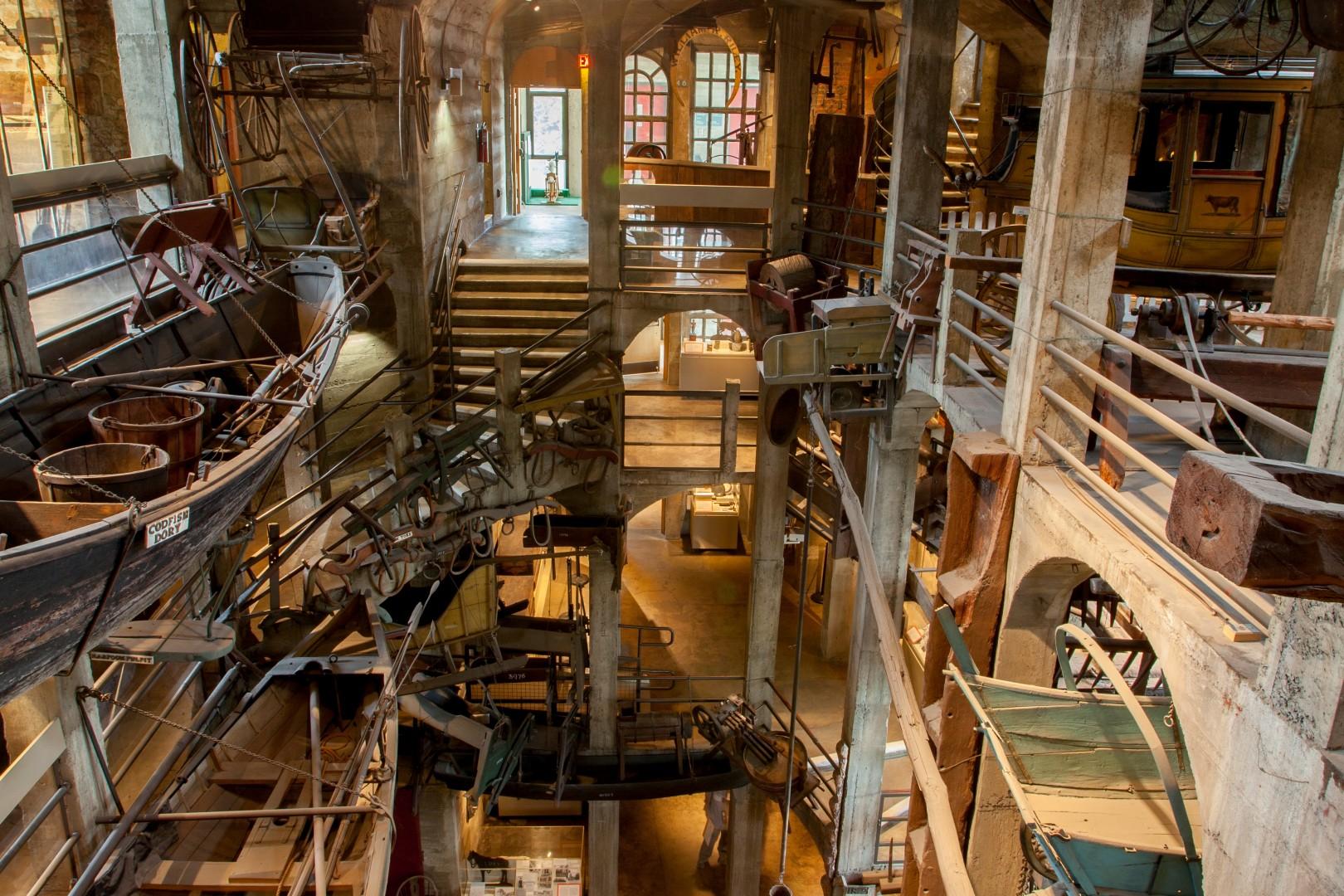 permanent exhibits mercer museum fonthill castle