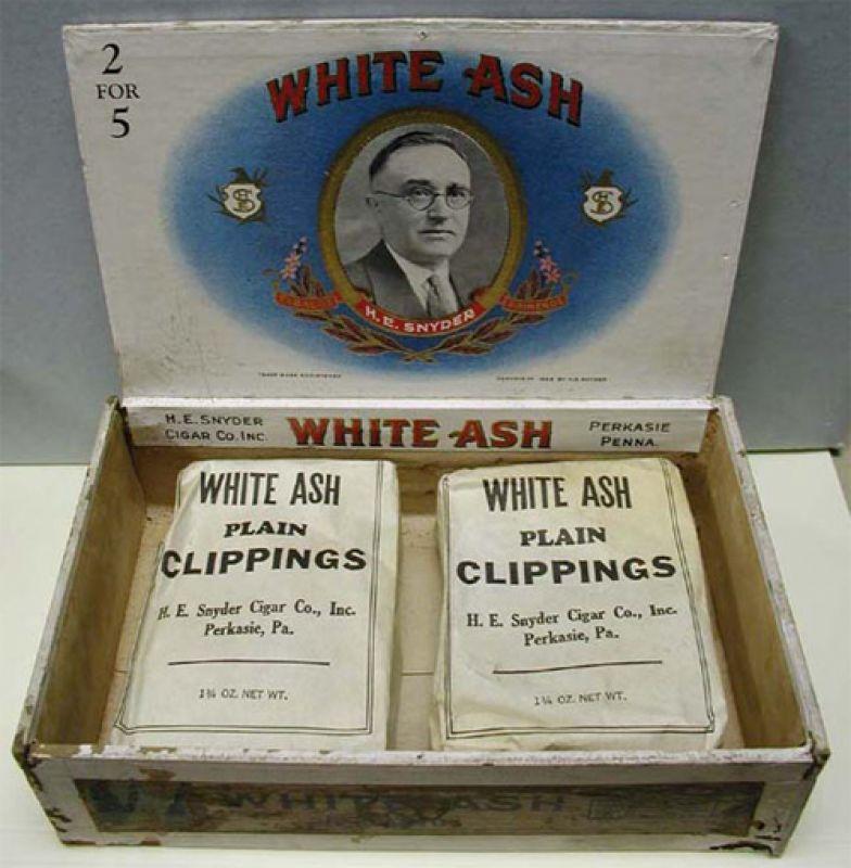 White Ash Cigar Clippings