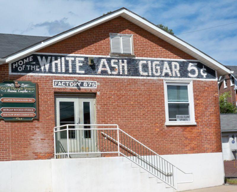 """White Ash"" Factory Building"