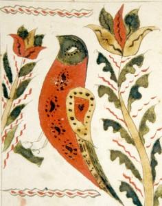 Fraktur Bird