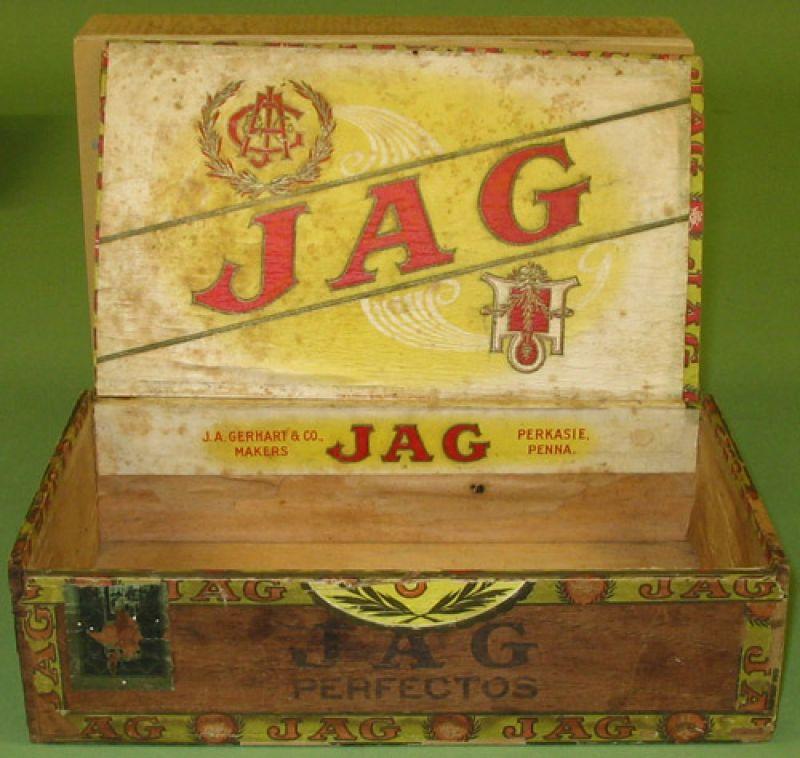 """""""JAG"""" Cigar Box"""