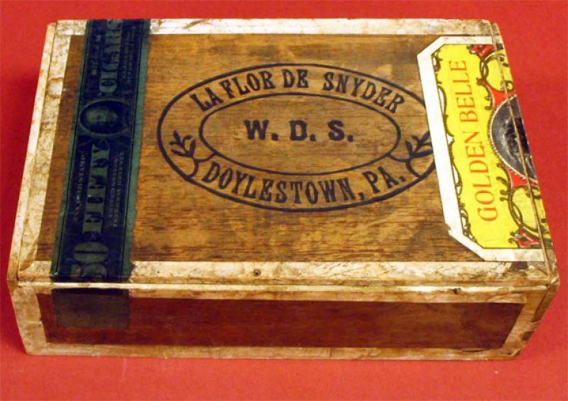 """""""La Flor De Snyder"""" Cigar Box"""