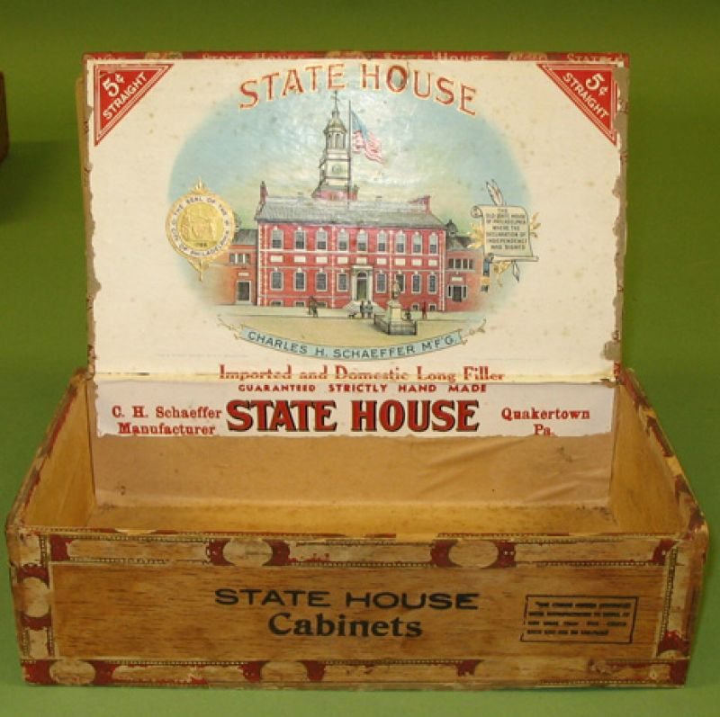 """State House"" Cigar Box"