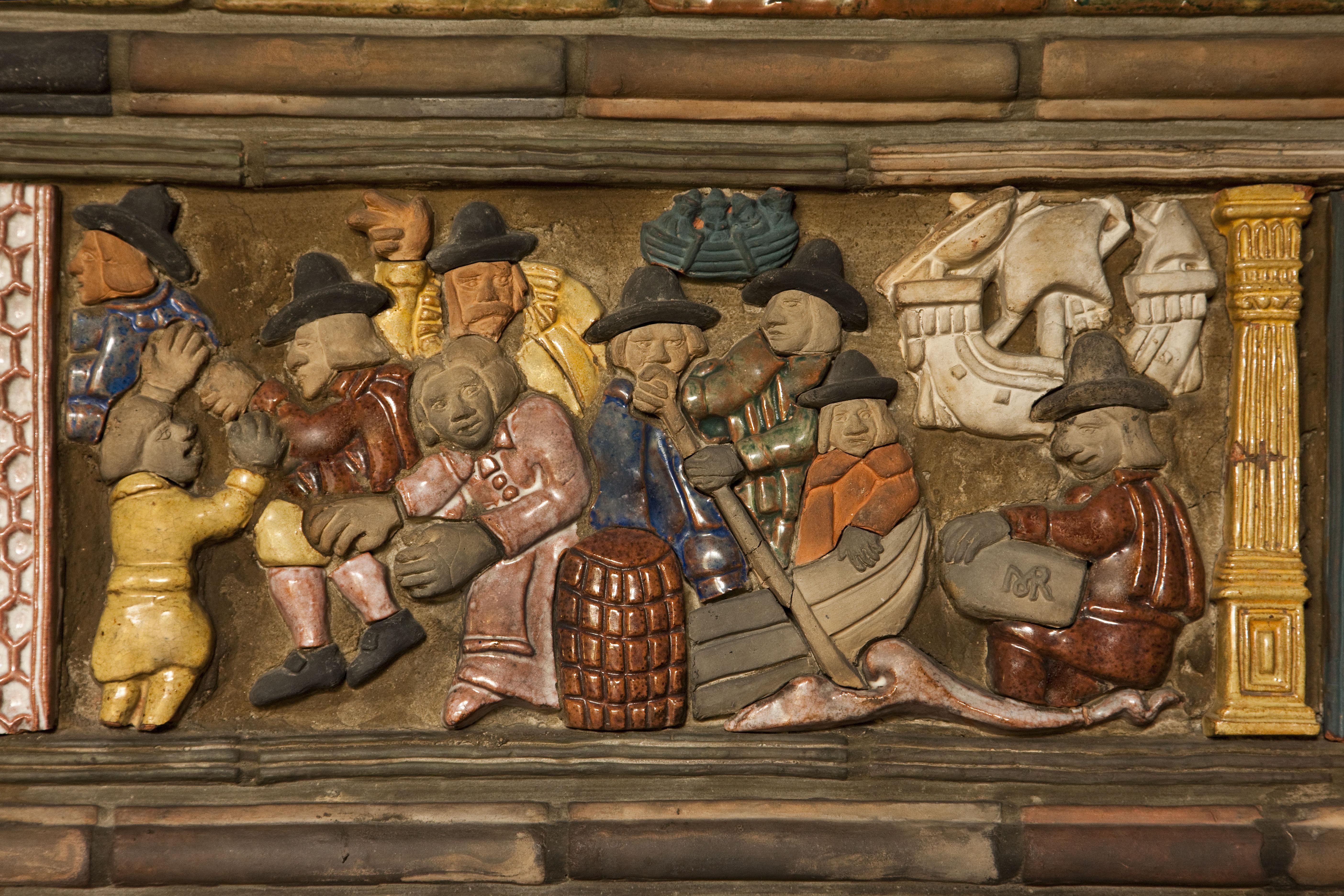 Mercer Tile Works : A fonthill tile tour mercer museum castle