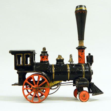 Cast Iron Toy Train Engine (MM2014.01.003)