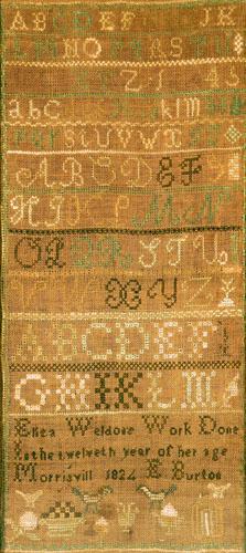 Alphabet Sampler (MM2014.05.001)