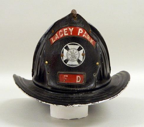 Lacey Park Firemen's Helmet (MM2015.03.001)