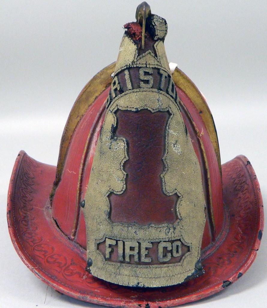 Bristol Fire Co. No. 1 Fire Helmet (MM2015.09.007)