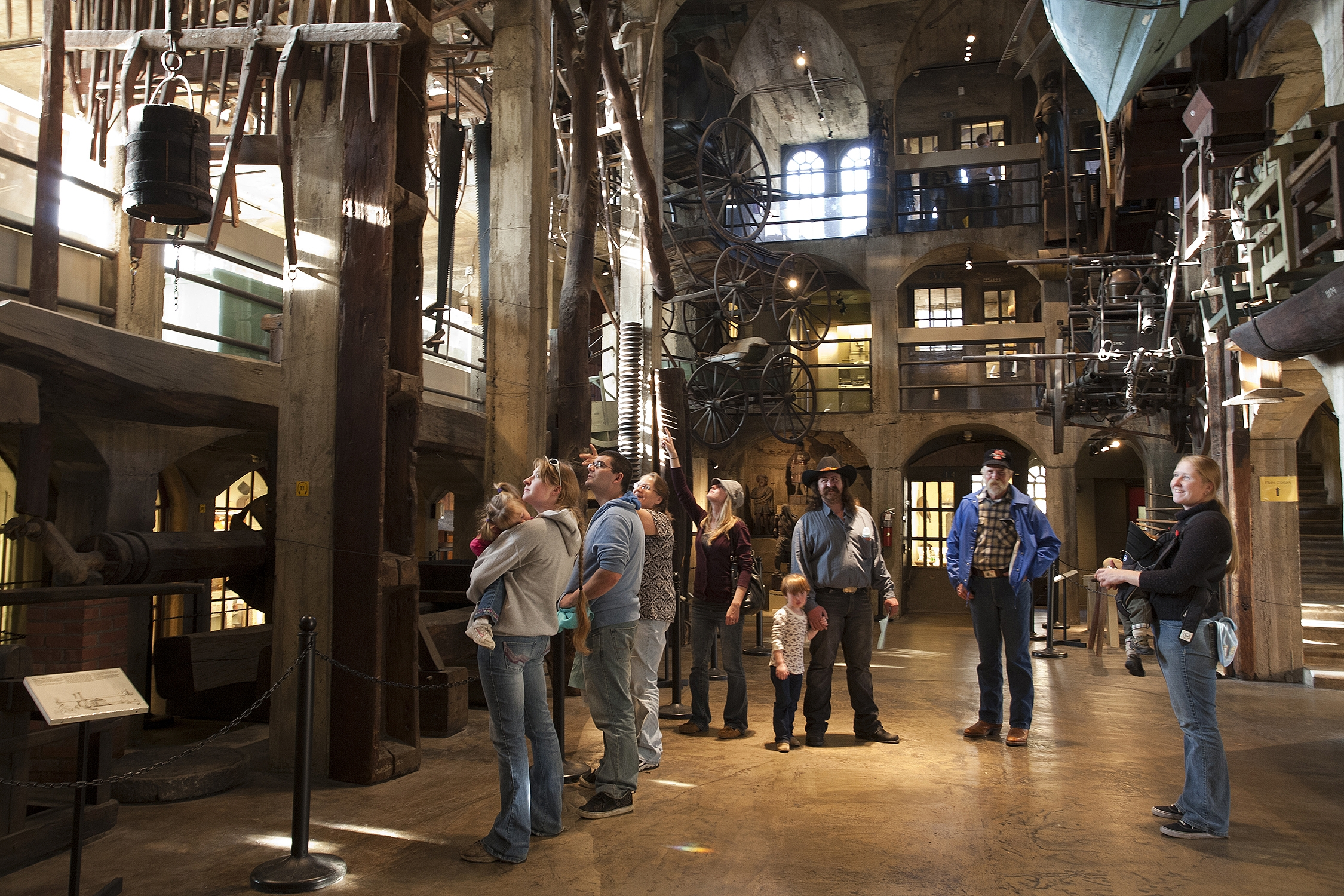 Doylestown museums 39 free day mercer museum fonthill castle for The mercer