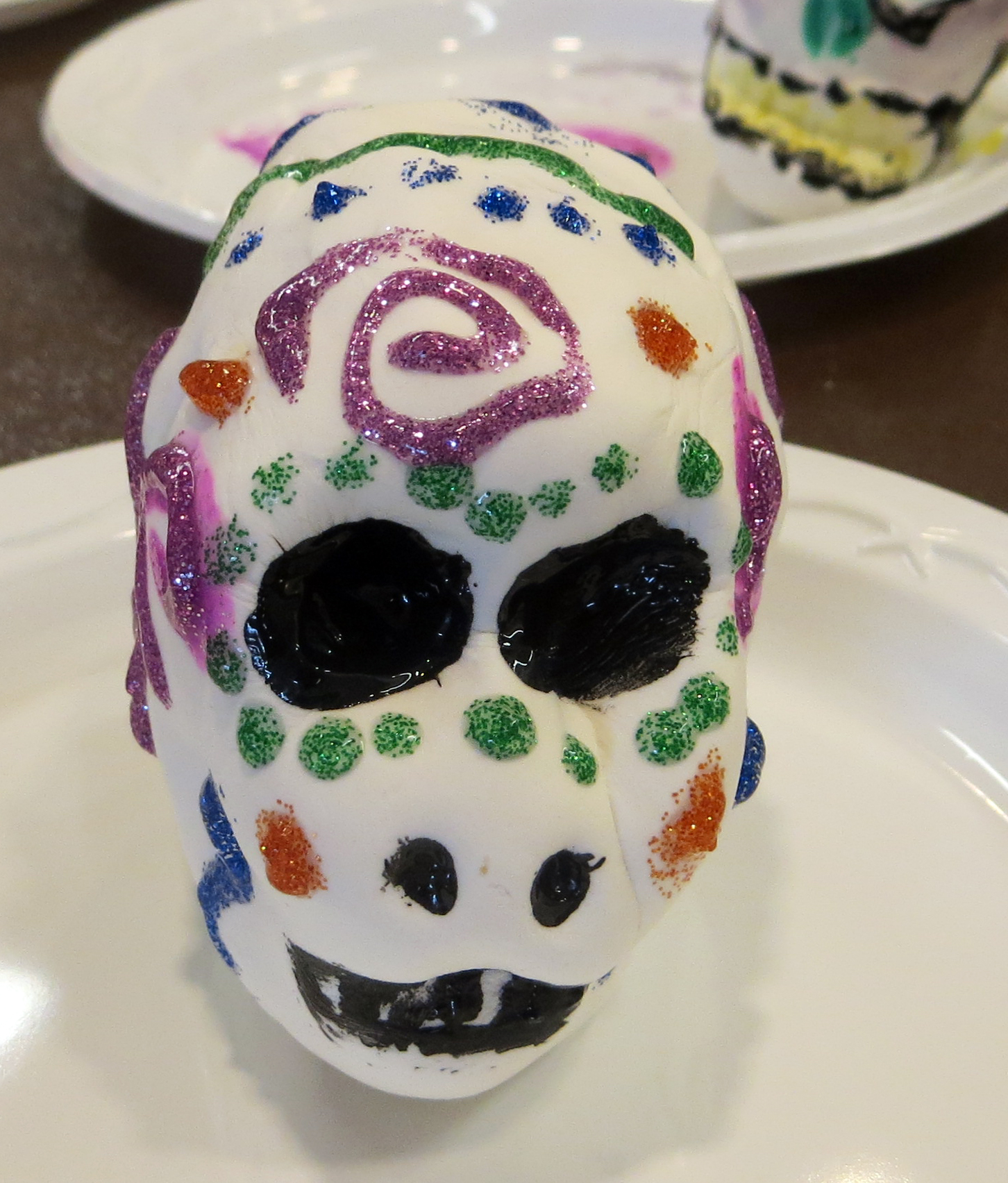 Children 39 s craft activity for Day of the dead crafts for preschoolers