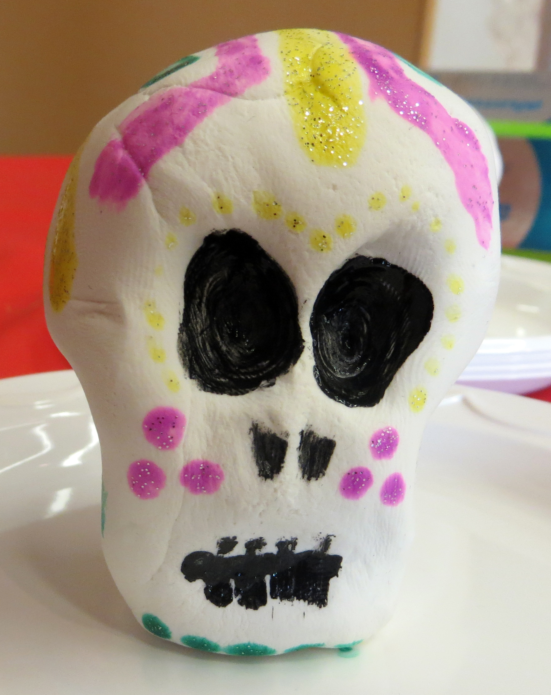 Children s craft activity dia de los muertos day of the for Day of the dead crafts for preschoolers