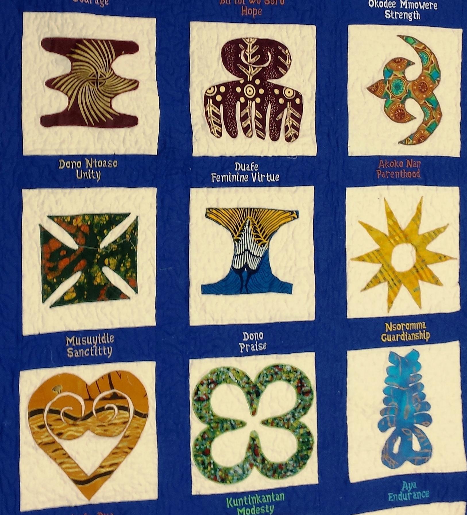 Artful Fabrics For Modern Quilts Adinkra Printing