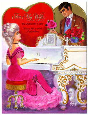 Mass-produced valentines, 1960s-1980s