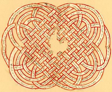 Handmade Fraktur Valentines