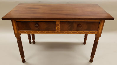 Mahogany Serving Table with Drop Leaf (MM2019.05)