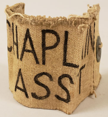 WWII Chaplain Assistant's Armband (MM2019.18.002)