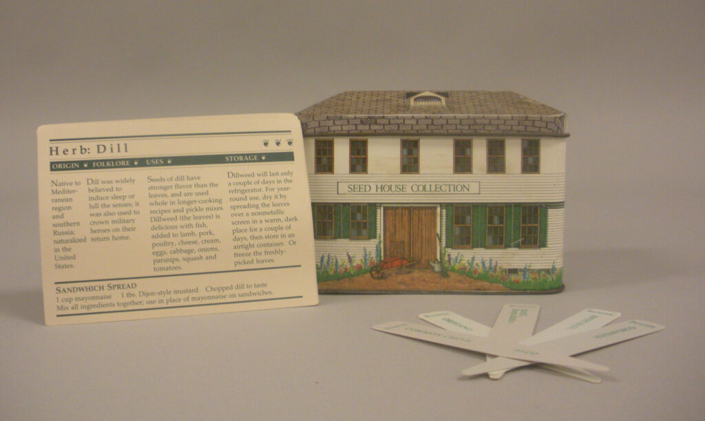 W. Atlee Burpee & Company Seed Container