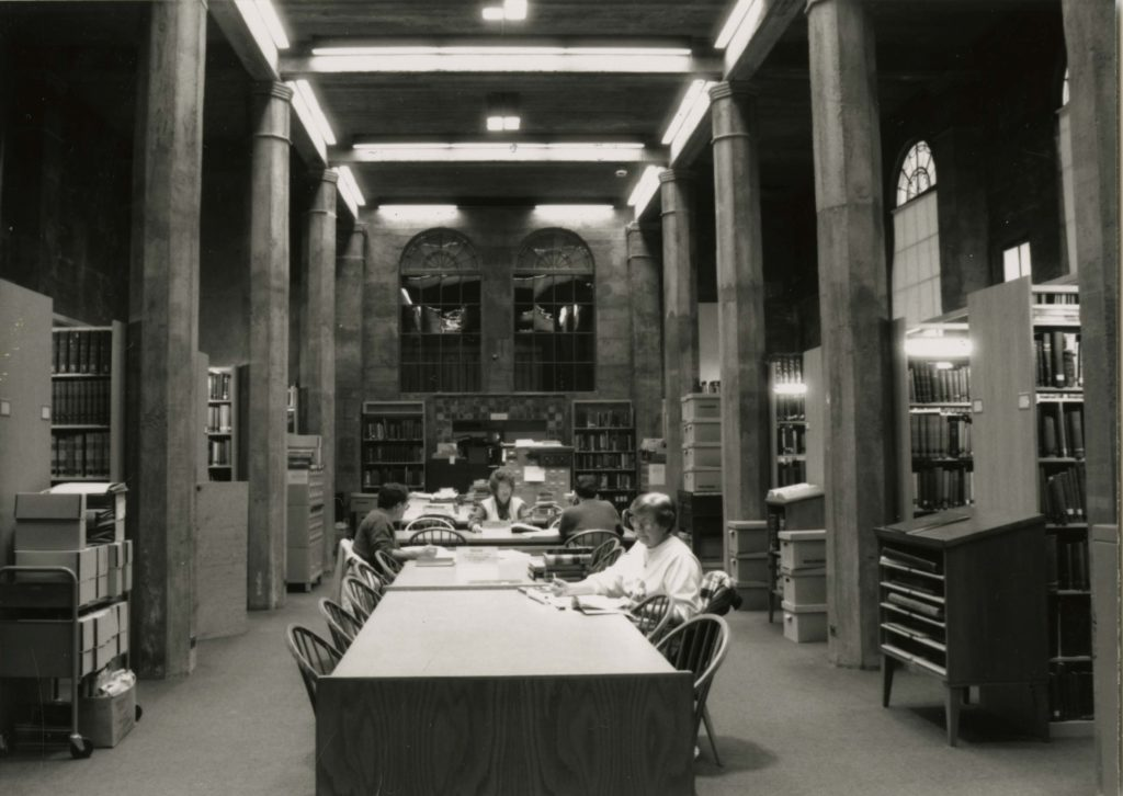 1990s Library Expansion